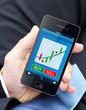 Börsenhandel über das Smartphone