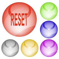 Reset. Vector interface element.