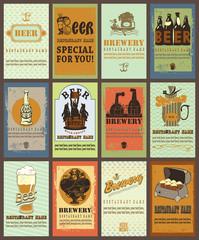 Beer labels design.