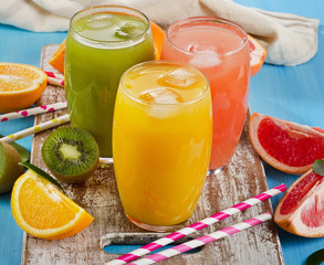 Fresh citrus juices