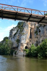 Pont de fer de Bouzies