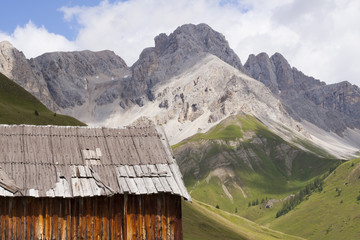 Fuciade, Soraga, Trentino Alto Adige (Dolomites) - Tyrolean chal