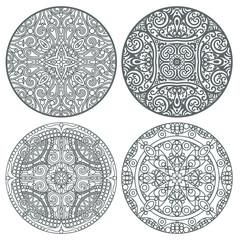 lace mandala set