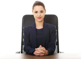 Portrait of an elegant businesswoman