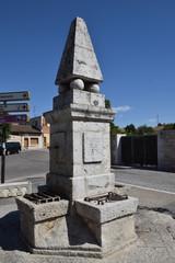 Fuente del Rey en el Castillo de Simancas (Valladolid)