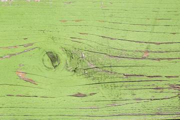 Tavola di legno verde