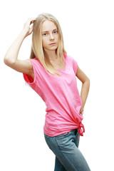 girl model posing