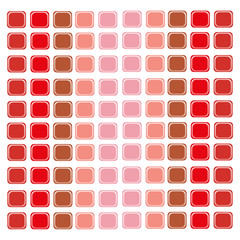 Abstraction red pattern - squares in different shades of red
