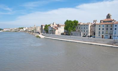 The riverside of Rhone