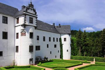 Schlosspark Schloss Lauenstein
