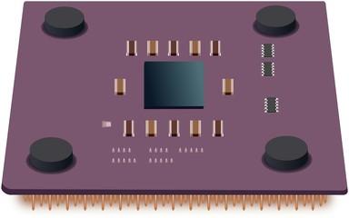 Simple illustration of common CPU unit