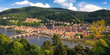 Blick vom Philosophenweg auf Heidelberg