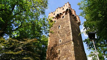 Historical tower in Cieszyn