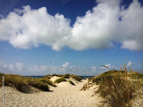 canvas print picture sand dunes