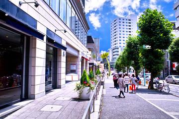 渋谷区代官山の街並み