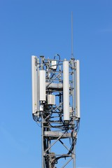 Tour support d'antennes relais GSM