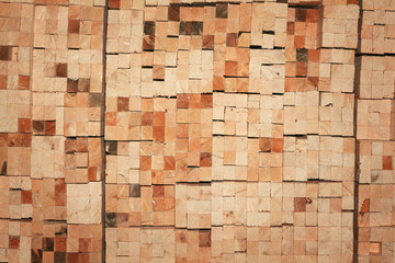 texture stack of boards, sawmill