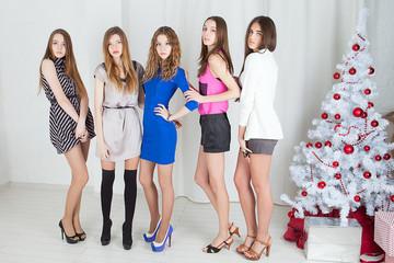 Young beautiful women