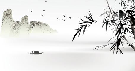 Chinese painting © baoyan