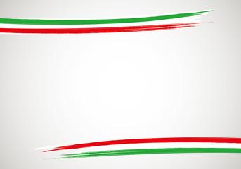 Base cornice Italia orizzontale