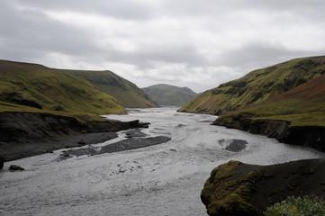 rivière glacière
