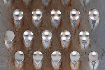 grater closeup