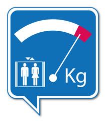 Logo charge ascenseur.