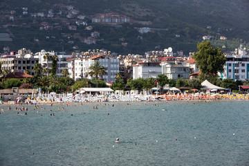 Alanya - the beach of Aladdin . Turkey