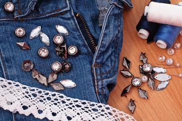 decoration jeans