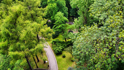 Park na Wzgózu Zamkowym w Cieszynie