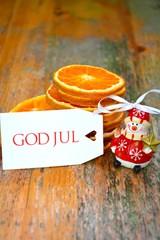 Weihnachtsmotiv - God Jul