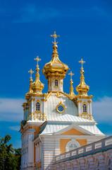east chapel in Peterghof, St Petersburg, Russia