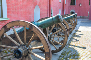 artillery meseum in St Peter and Paul fortress, St Petersburg, R