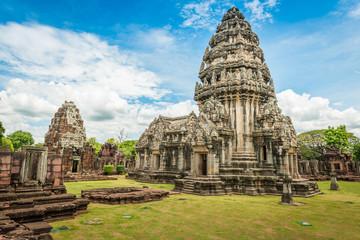 historic Prasat Hin Phimai Castle at Nakhon Ratchasima Province,