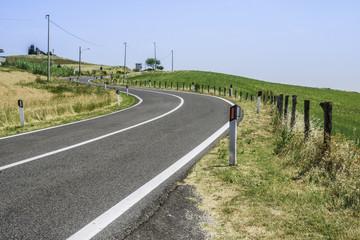 Roads in San Marino