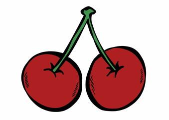 doodle cherries