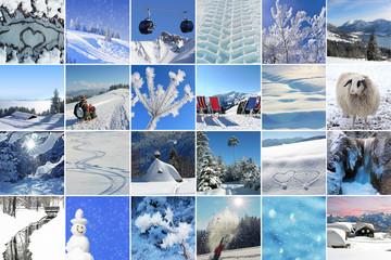 Collage - Winter Impressionen