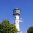 Leinwanddruck Bild - Wasserturm in ERKELENZ ( erbaut 1903 )