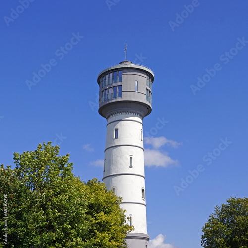 Leinwanddruck Bild Wasserturm in ERKELENZ ( erbaut 1903 )