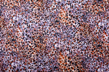 Purple and brown leopard pattern.Animal print as background.