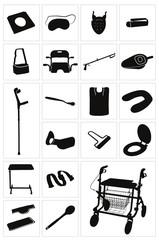 Moderne medizinische Geräte & Alltagshilfen - Set 3