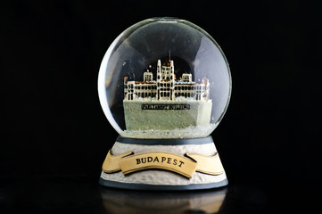 Budapest snow globe