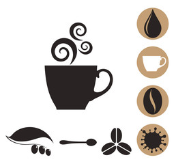 Coffee. Icon Set