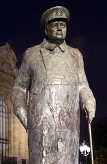 Sir Winston Churchill Statue in Paris