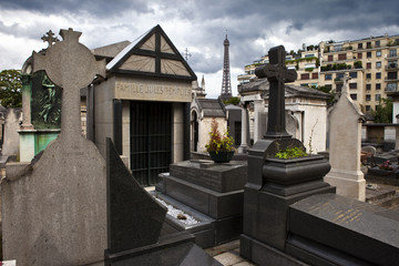 Passy Cemetery in Paris