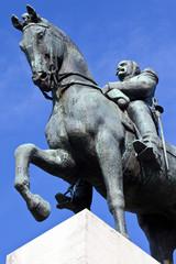 Marshal Ferdinand Foch Statue in Paris