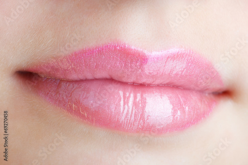 canvas print picture mouth