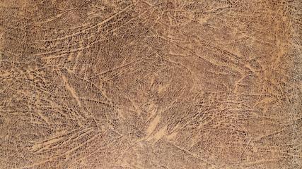 Worn leather background