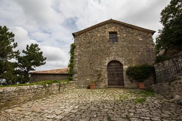 Chiesa a Castiglione d'Orcia