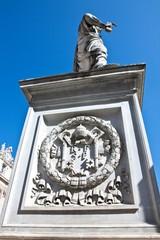 Statue auf dem Petersplatz